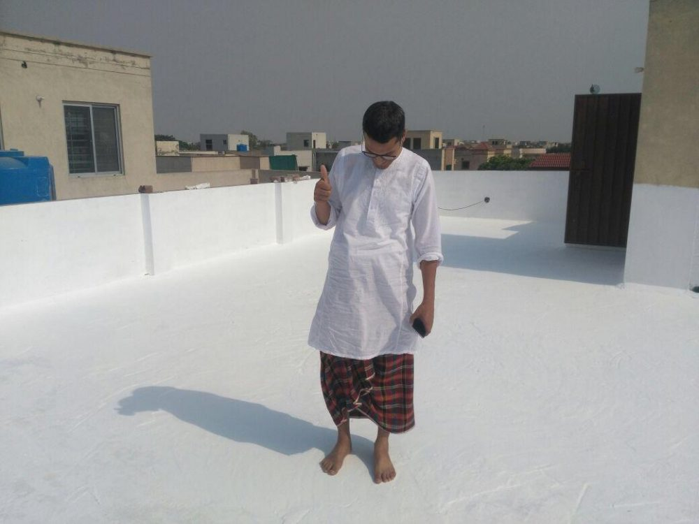 Roof heat proofing in lahore