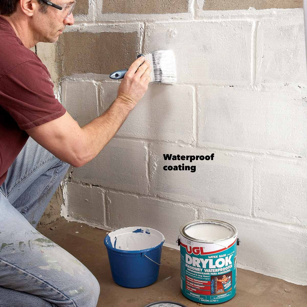 Using Waterpoofing Paints In Basement