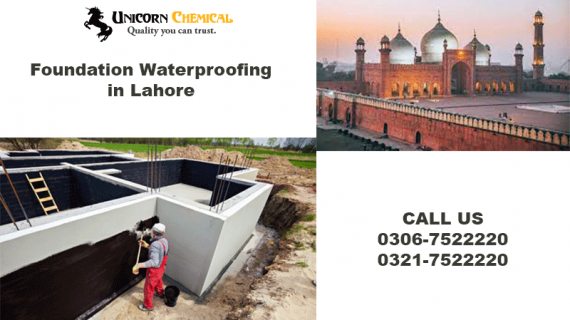 FOUNDATION WATERPROOFING IN LAHORE